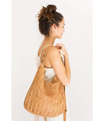 Bolso de piel con estilo vintage. Complementos de MODA Primavera Verano 2018 en LAMOI