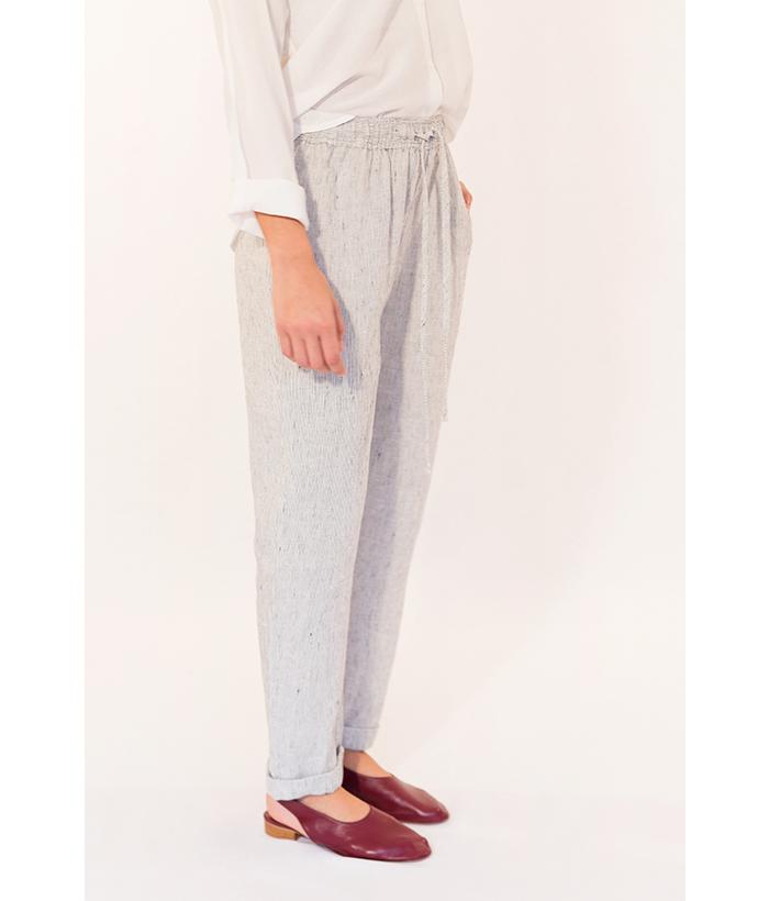 Pantalón de lino marca Harris Wilson