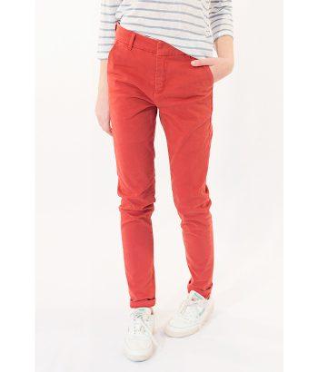 Pantalón chino color caldera marca ICHI. Moda Primavera Verano LAMOI 2018
