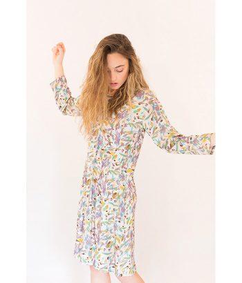 Vestido estampado primaveral de la marca PAN