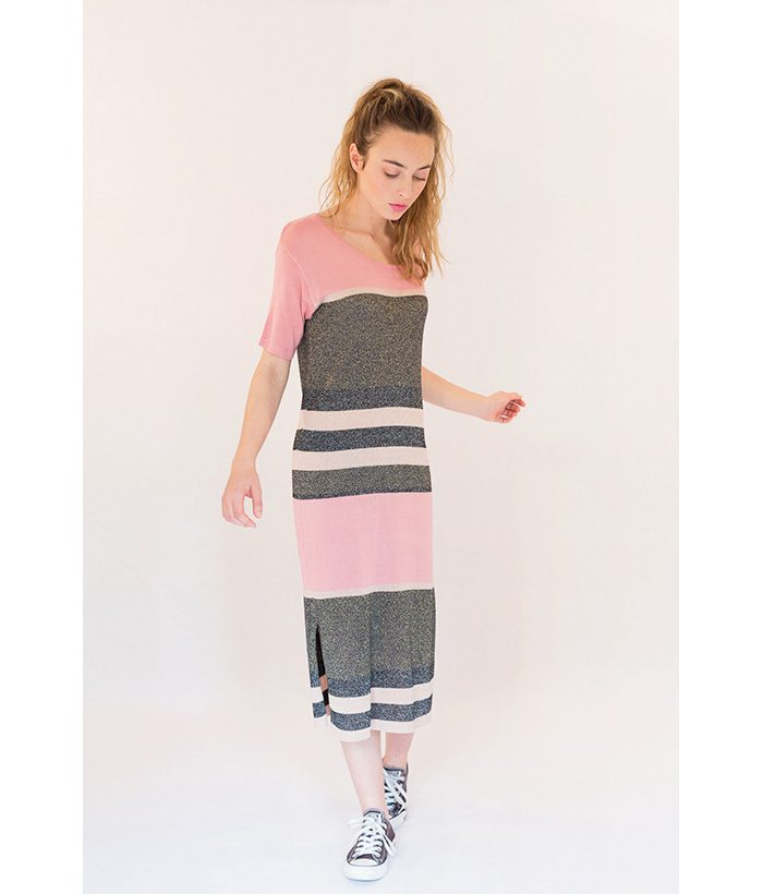 Vestido estilo Missoni de la marca ICHI