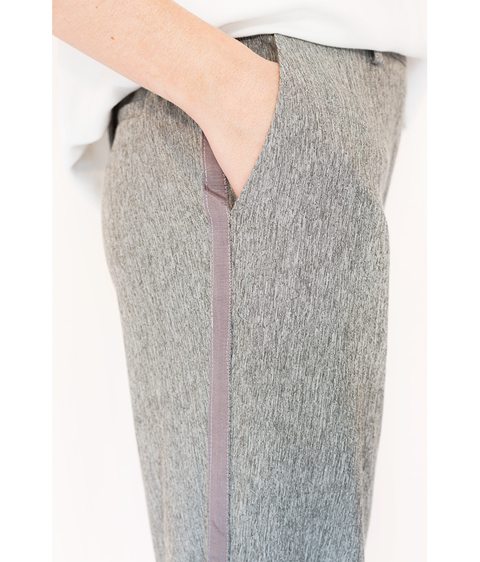 pantalón de vestir gris de Freequent