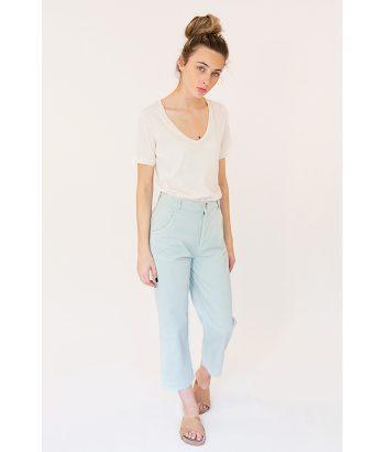 pantalón tobillero azul claro Harris Wilson