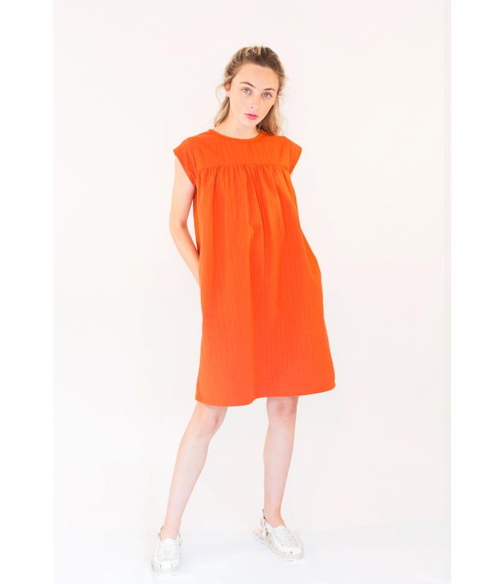 vestido_naranja_algodón