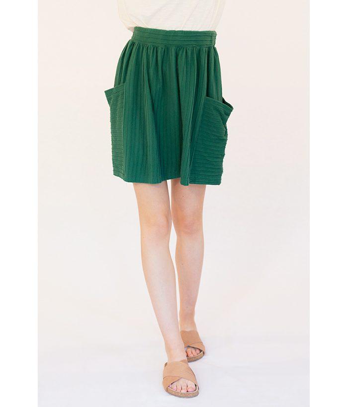 falda corta verde de PAN