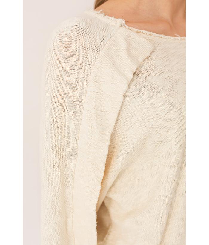 jersey deshilachado crudo de PAN