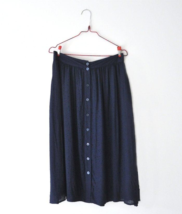 falda larga con botones de Nümph