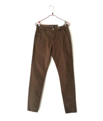 pantalón chino marrón ICHI