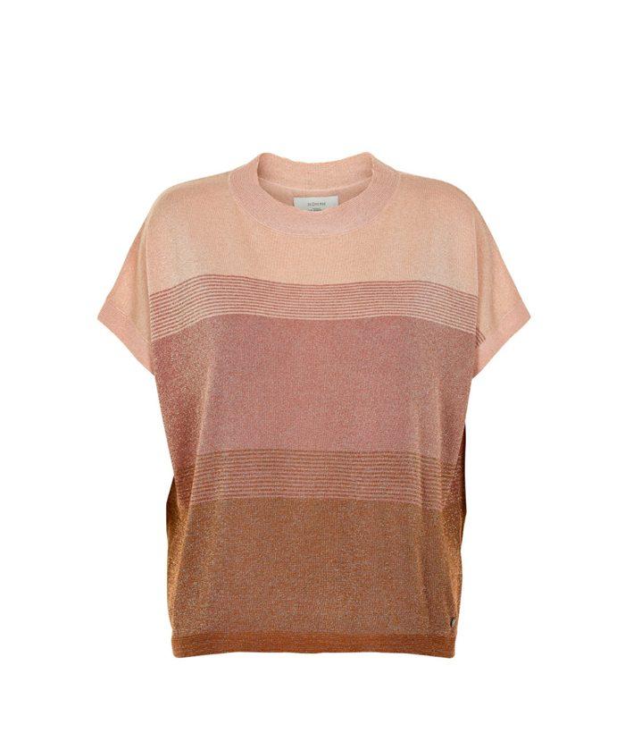 Camisa de punto con fibras metálicas - NÜMPH - Moda AW en LAMOI