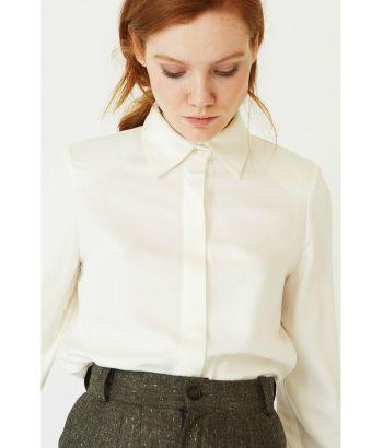 Elegante camisa con solapa - Ropa Chica - Moda otoño invierno LAMOI