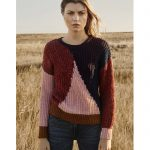 Jersey geométrico tricolor - ICHI - Moda Otoño Invierno para mujer en LAMOI