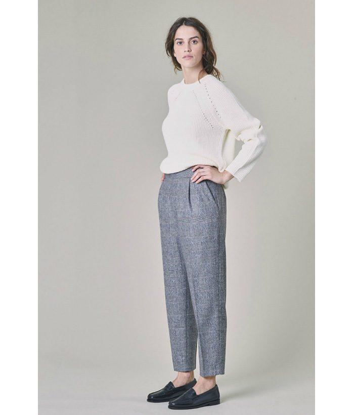 Pantalón lana con corte inglés - Harris Wilson - Moda de mujer en LAMOI