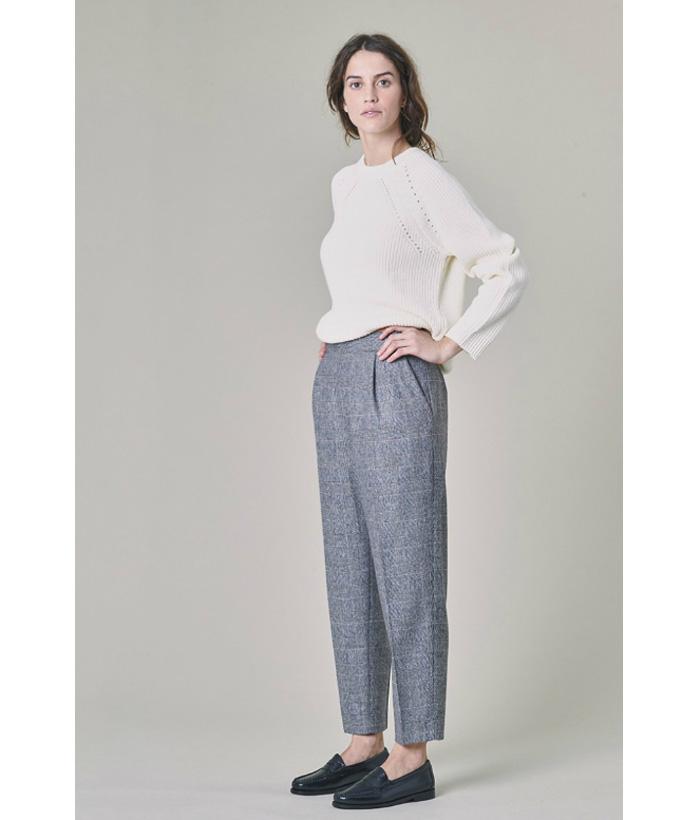 Pantalón lana con corte inglés – Harris Wilson – Moda de mujer en LAMOI