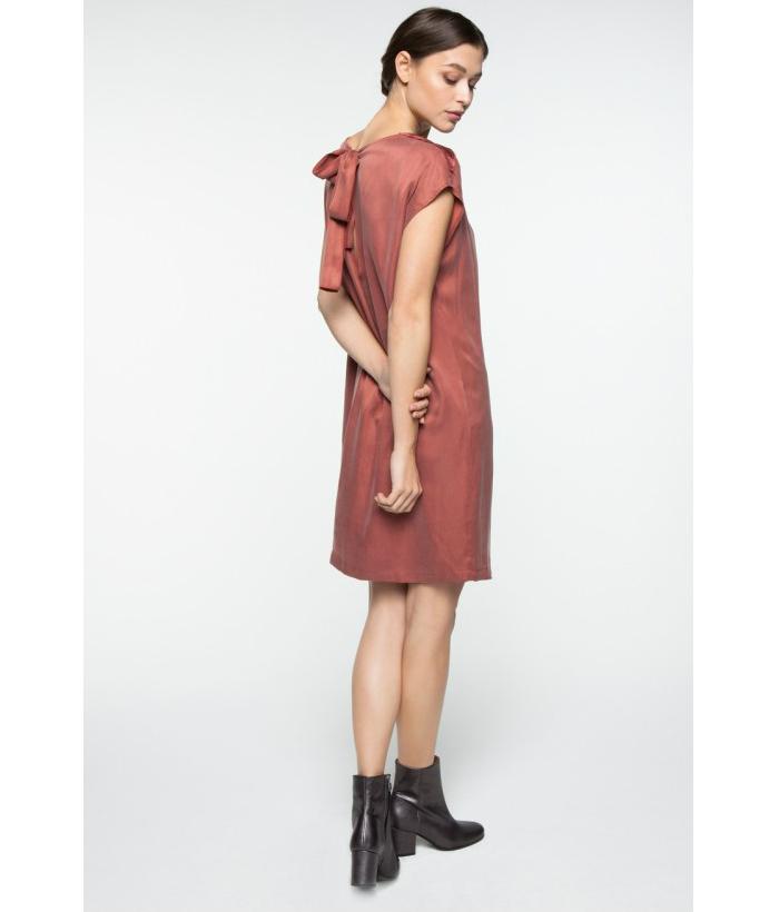 Vestido sedoso con espalda abierta – YAYA – Moda de mujer LAMOI