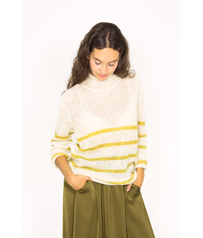 Jersey de punto fino lana de merino – ROPA CHICA – Moda de mujer en LAMOI