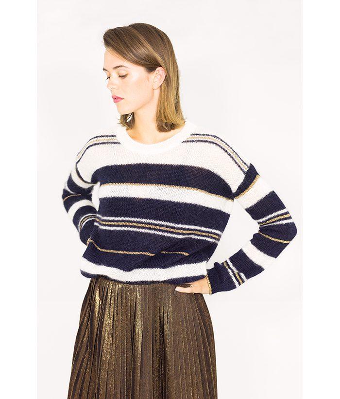 Jersey a rayas - Harris Wilson - Moda femenina otoño invierno en LAMOI