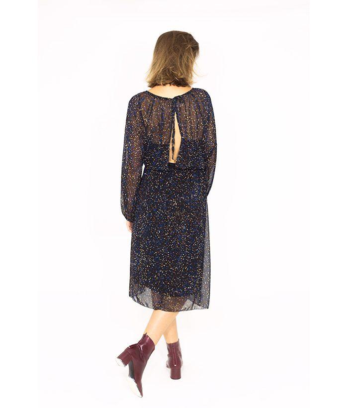 Vestido apertura espalda - PLEASE - MODA de temporada en LAMOI