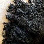 bufanda negra de invierno de ICHI