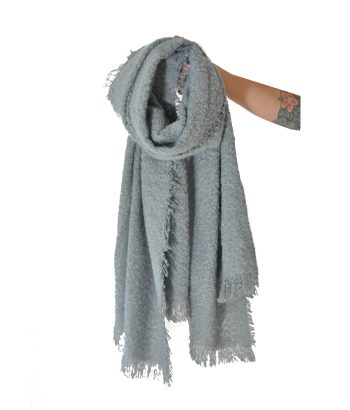 bufanda azul agua ICHI
