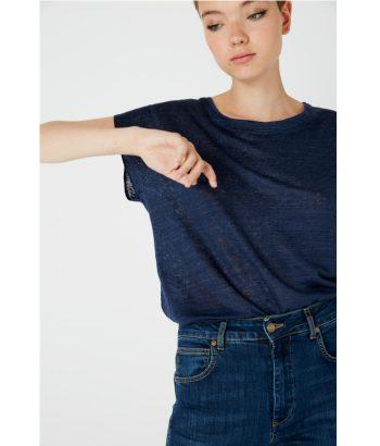 camiseta_lino_azul_marino_Ropa_Chica