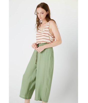 pantalon-fluido-verde-Ropa-Chica