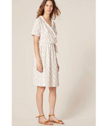 vestido-estampado-puntos-rosas-de-Harris-Wilson