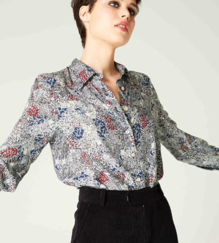 blusa motas de ropa chica