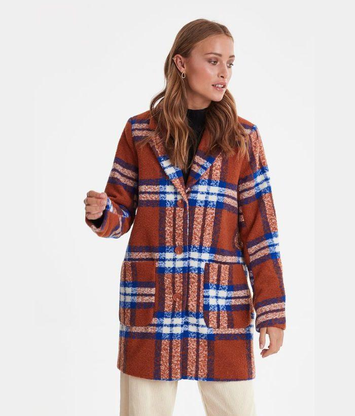 abrigo cuadros de invierno