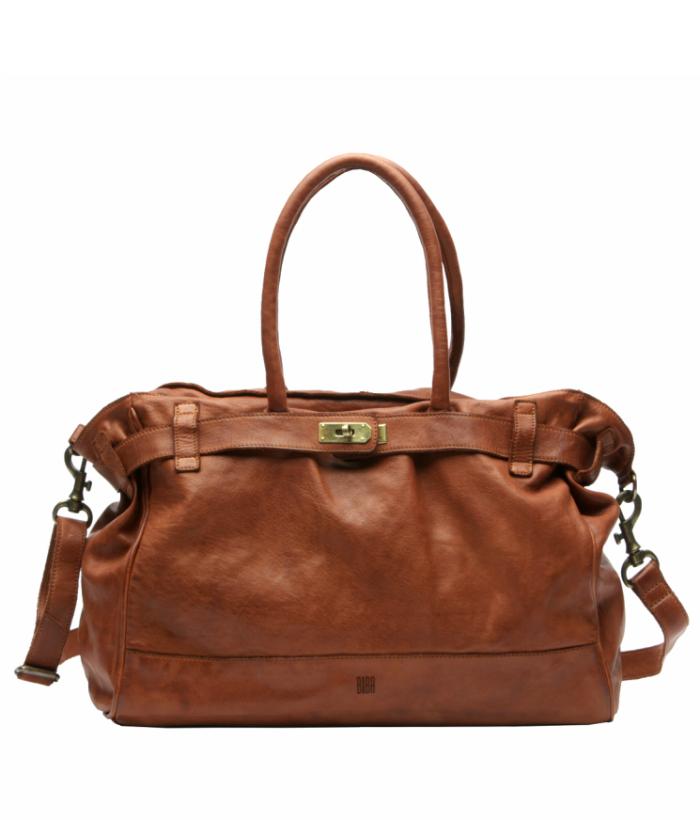 Bolso piel marrón modelo Birkin
