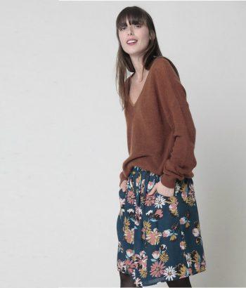 falda corta de flores de HARRIS WILSON