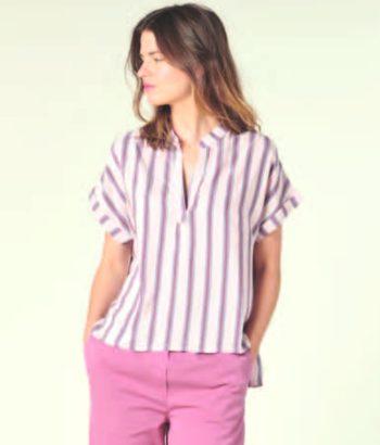 blusa rayas rosa harris wilson