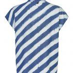 blusa de rayas manga cora