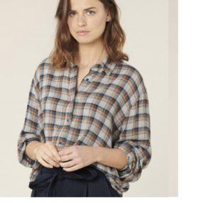 Camisa de lana de cuadros de Harris Wilson