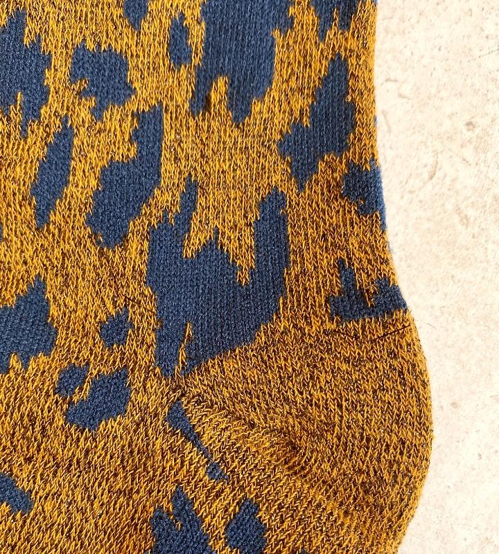 calcetines con brillo y estampado print