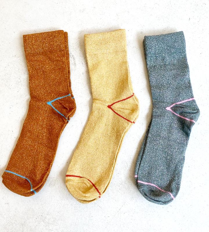 calcetines de brillo