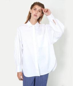 blusa blanca de mujer
