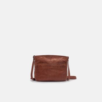 bolso bandolera de piel color cuero