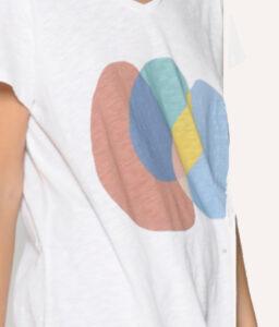 camiseta manga corta color blanco de PAN