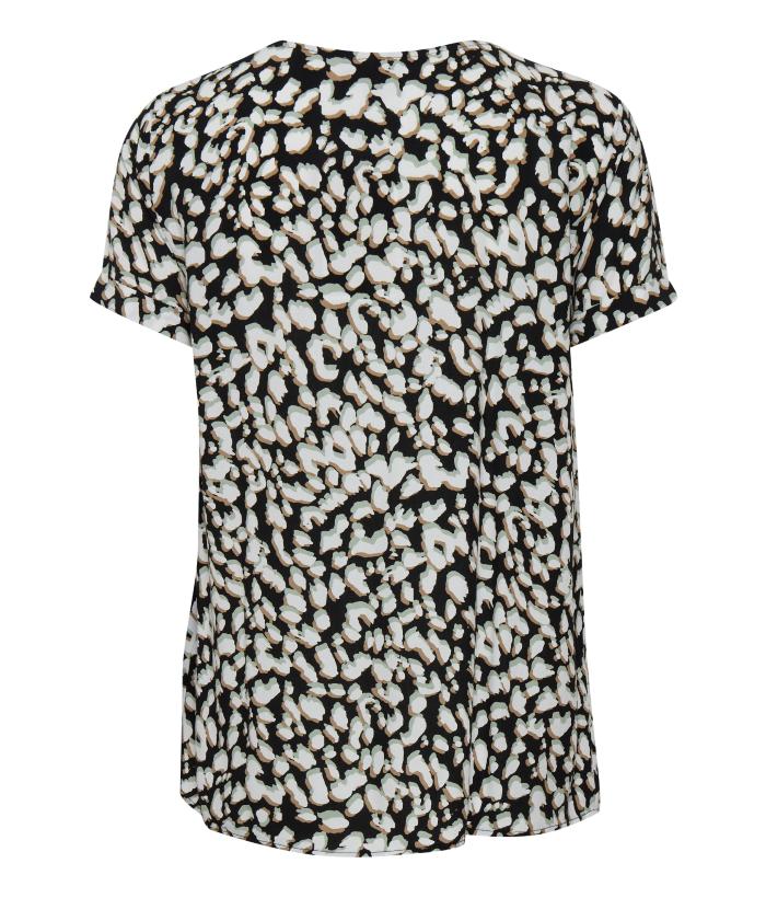 blusa manga corta estampado print