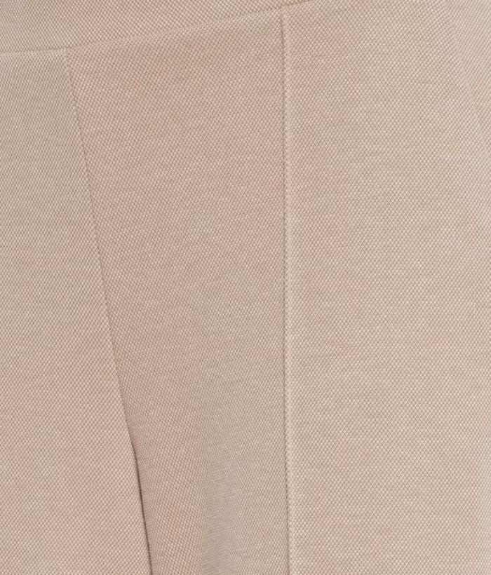 pantalón palazzo color arena de ICHI