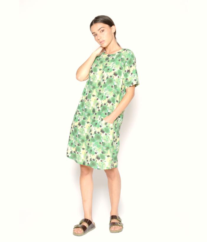 vestido verde de montas de PAN