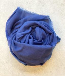 Pañuelos azul con brillos plateados