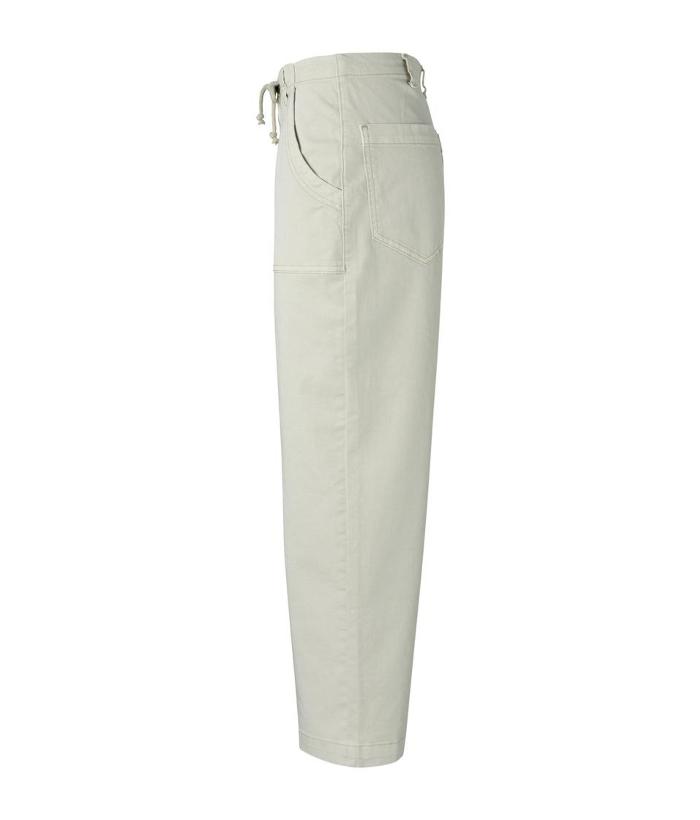 vaquero blanco con bolsillos