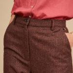 Pantalón de lana estilo italiano de Harris Wilson