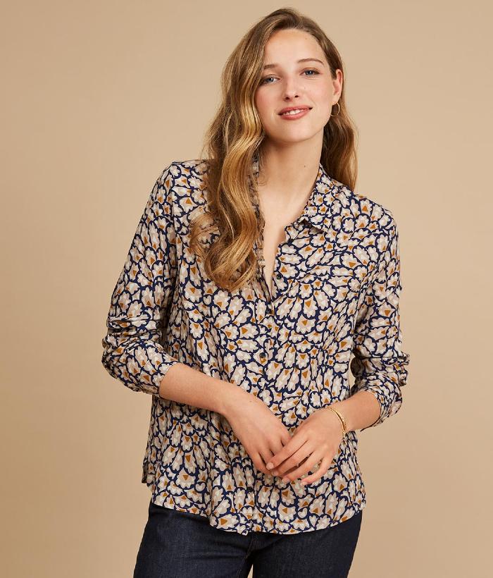 blusa con dibujo cachimire de Harris wilson