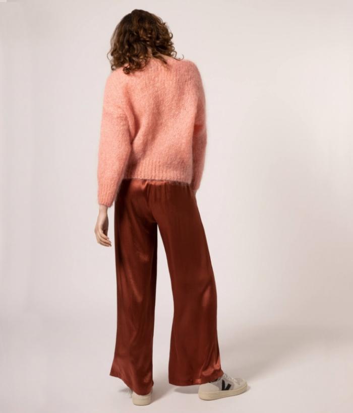 jersey rosa palo de lana