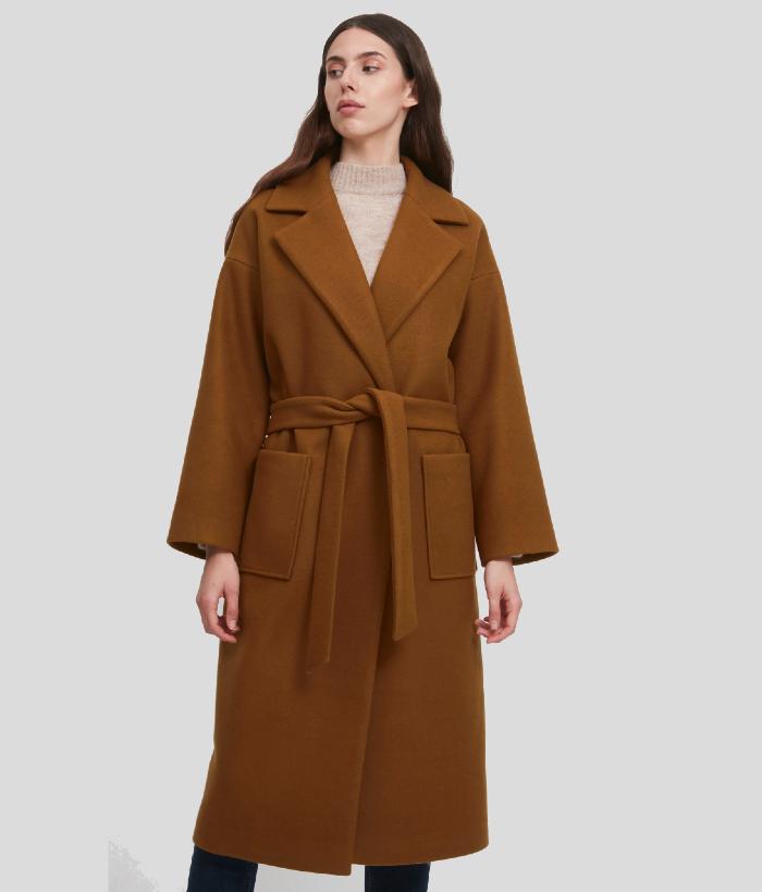 abrigo camel de ICHI