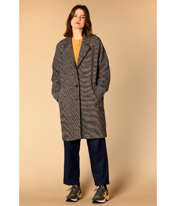 abrigo de lana de Harris wilson