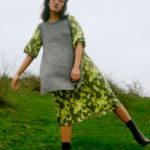 chaleco gris largo de mujer de ICHI