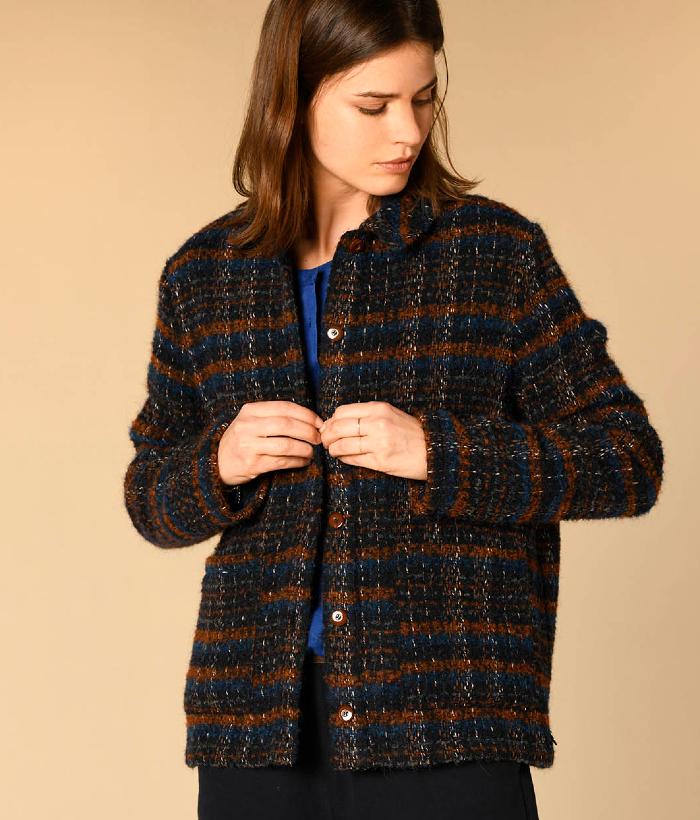 abrigo cuadros de Harris Wilson